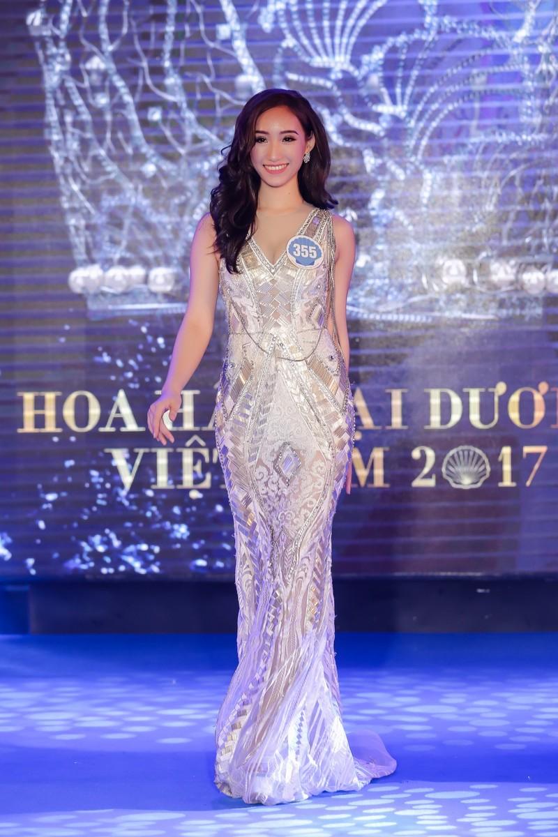 Dàn người đẹp HH Đại Dương khoe dáng trong đêm bán kết - ảnh 3