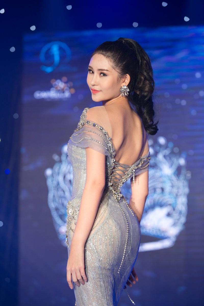 Dàn người đẹp HH Đại Dương khoe dáng trong đêm bán kết - ảnh 4