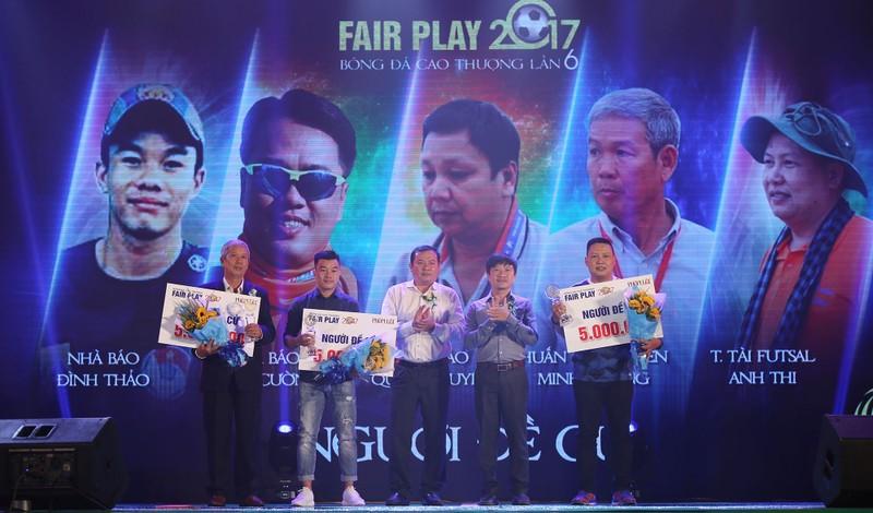 Ấn tượng lễ trao giải Fair Play 2017 - ảnh 12
