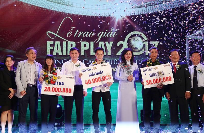 Ấn tượng lễ trao giải Fair Play 2017 - ảnh 16