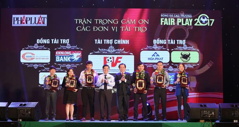 Ấn tượng lễ trao giải Fair Play 2017 - ảnh 5