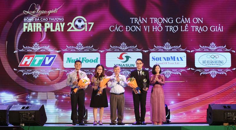 Ấn tượng lễ trao giải Fair Play 2017 - ảnh 6