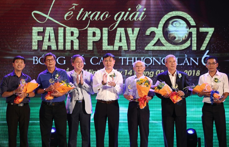 Ấn tượng lễ trao giải Fair Play 2017 - ảnh 8