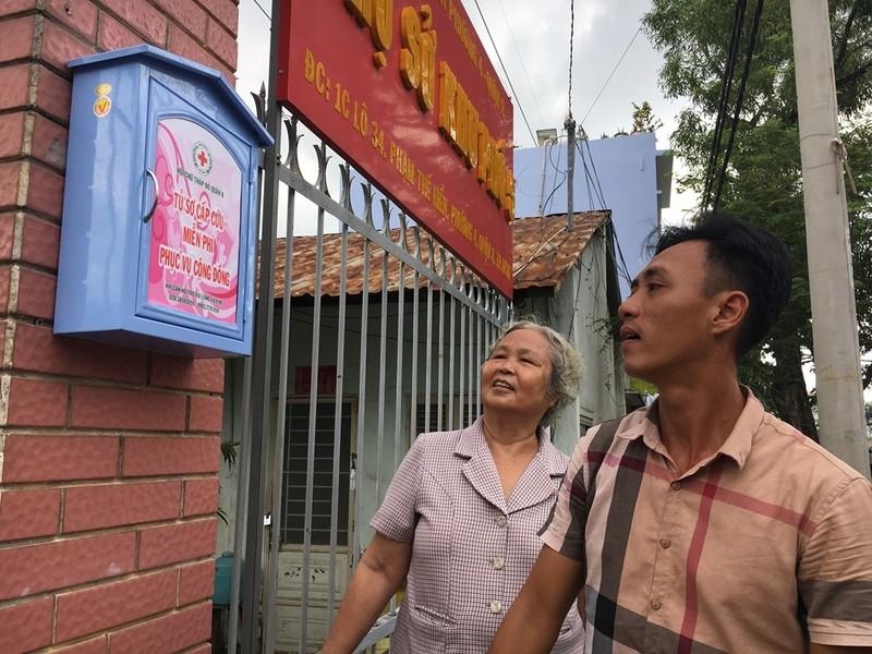 Người Sài Gòn có tủ cứu thương miễn phí  - ảnh 2
