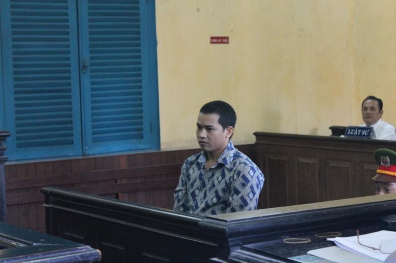 Bị cáo Nguyễn Thanh Tùng tại tòa