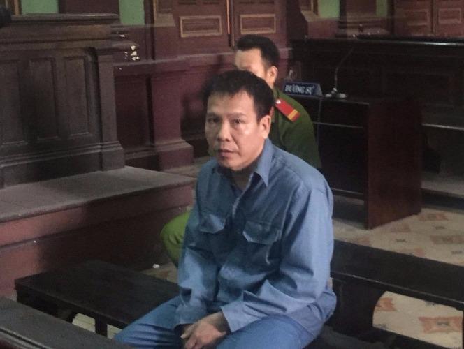 Bị cáo Phạm Văn Nhân tại tòa