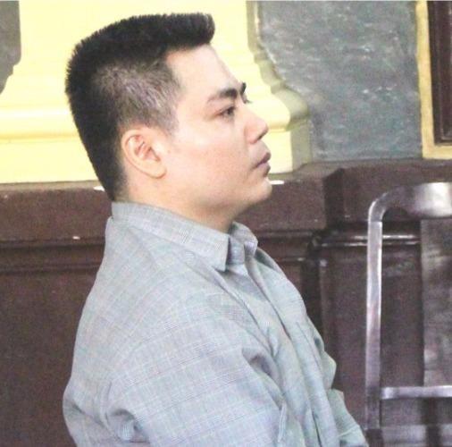 Bị cáo Lực tại phiên xử