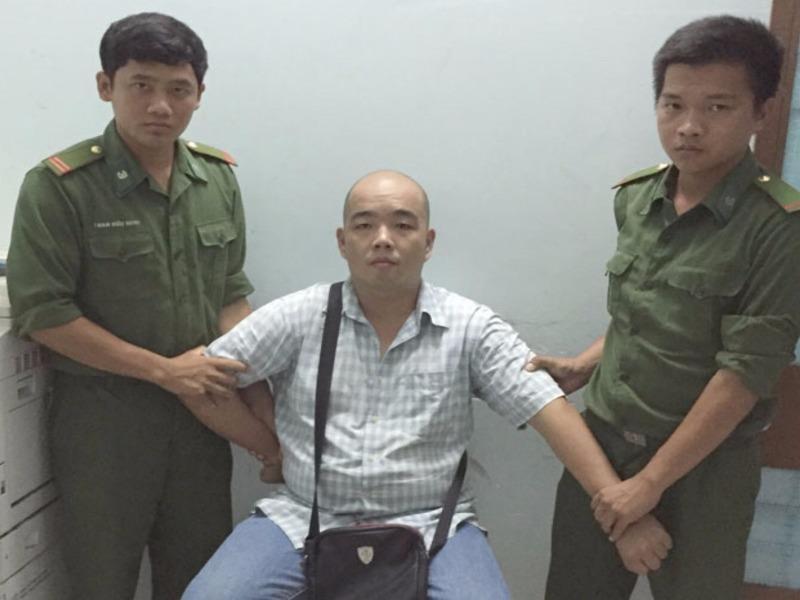 Chuah Chow Fay lúc bị bắt