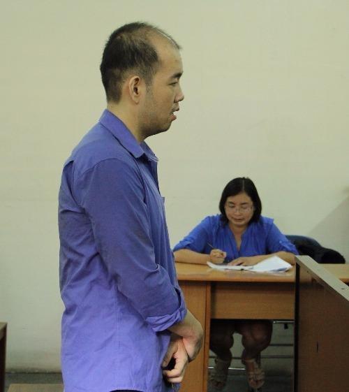 Bị cáo tại phiên xử
