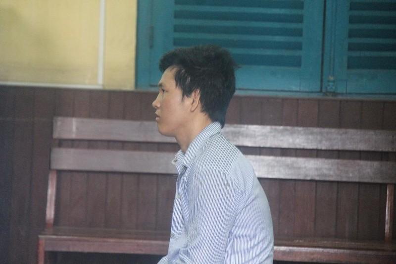 Bị cáo Nguyễn Văn Bông tại toà