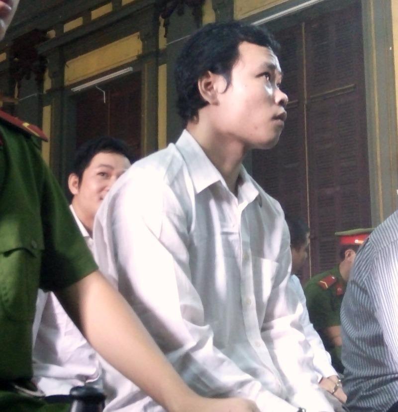Bị cáo Nam tại phiên xử phúc thẩm