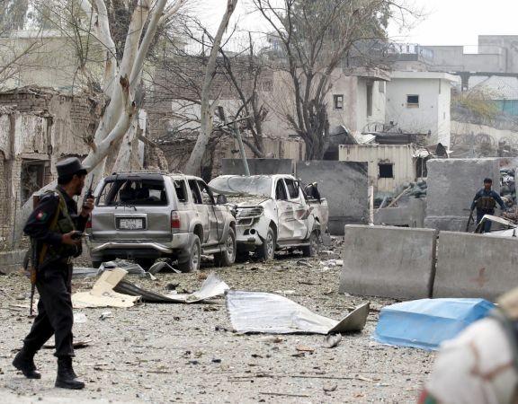 Lãnh sự quán Ấn Độ tại Afghanistan bị đánh bom - ảnh 1