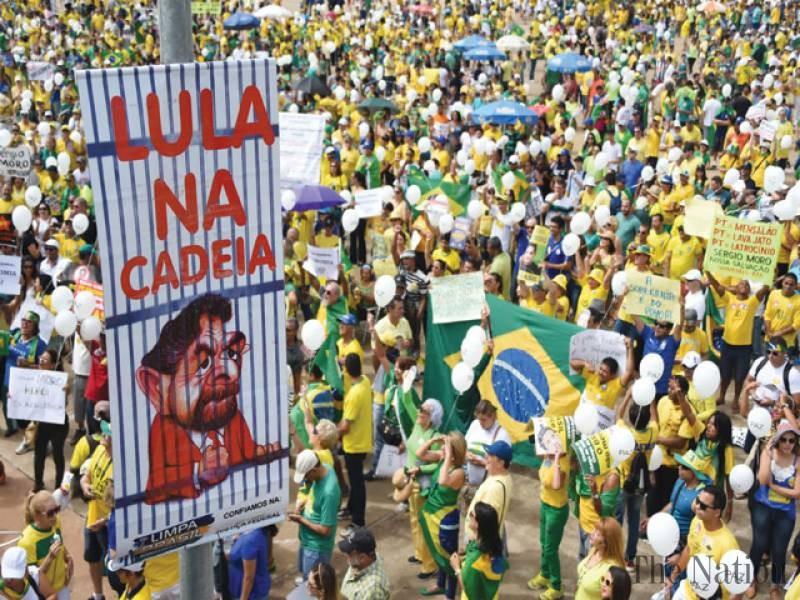 Siêu biểu tình lật đổ tổng thống Brazil - ảnh 3