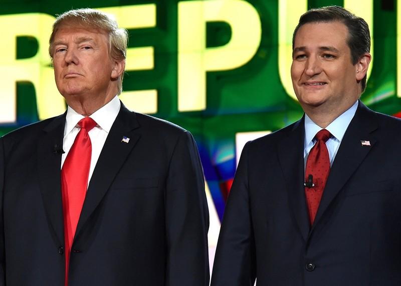 Ứng viên Cộng hòa Ted Cruz và Donald Trump chỉ trích nhau kịch liệt - ảnh 1