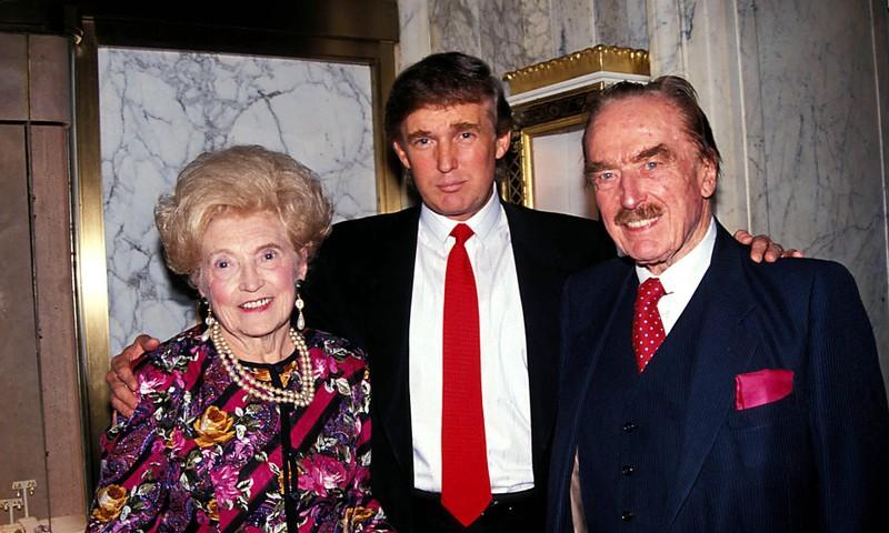 'Máu kinh doanh' thấm cả dòng họ Donald Trump - ảnh 2