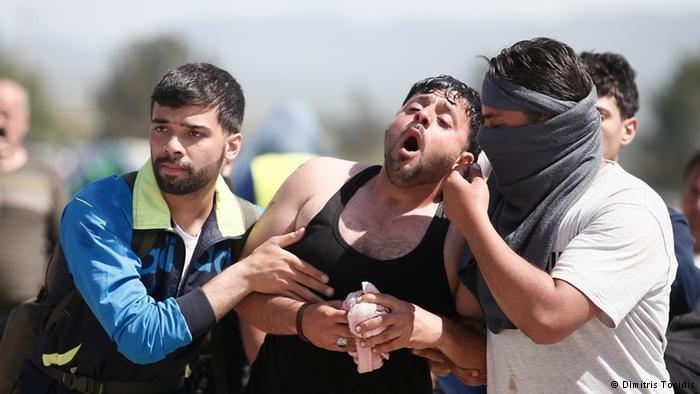 300 người nhập cư bị thương vì cố vượt qua Macedonia - ảnh 3