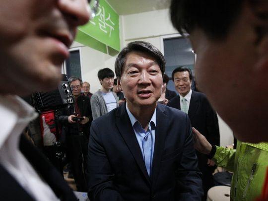 Đảng cầm quyền Hàn Quốc mất thế đa số ở Quốc hội - ảnh 1