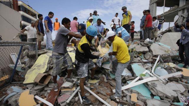Động đất ở Ecuador: 272 người chết, hơn 2.500 người bị thương - ảnh 1