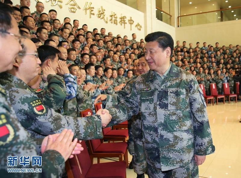 Ông Tập Cận Bình nắm chức Tổng Tư lệnh lực lượng tác chiến - ảnh 1