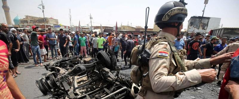 IS đánh bom Baghdad làm hàng trăm người thương vong - ảnh 1