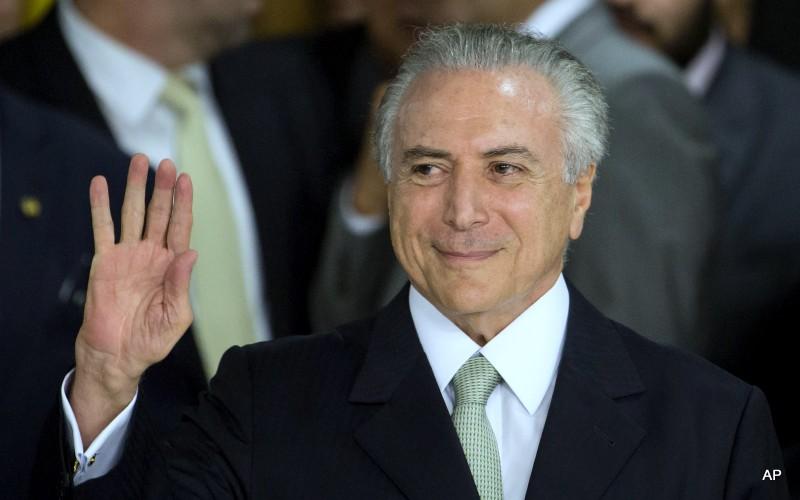 Tổng thống lâm thời Brazil từng cung cấp tin tình báo cho Mỹ - ảnh 1