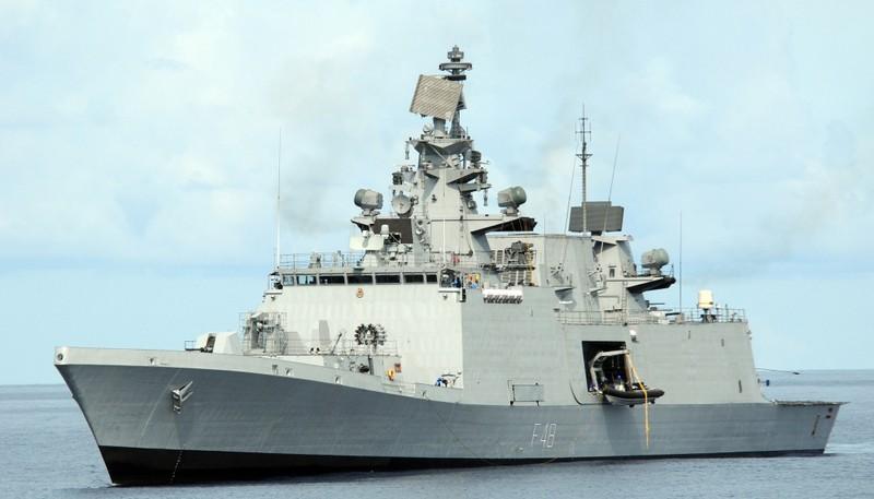 Ấn Độ đưa tàu khu trục tàng hình đến Cam Ranh - ảnh 1