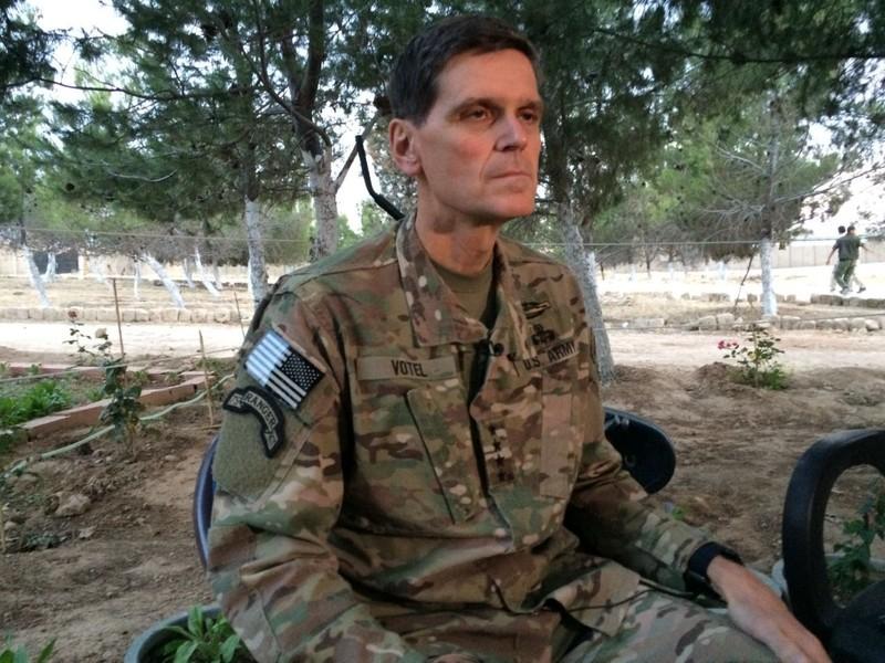 Tư lệnh Mỹ ở Trung Đông bí mật đến Syria - ảnh 1