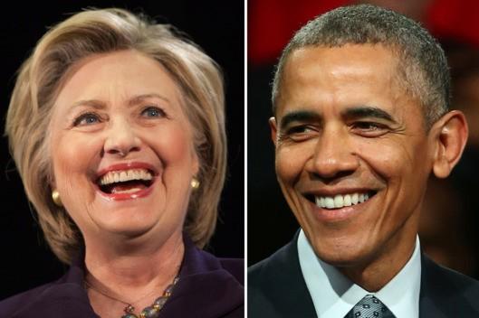 Ông Obama là tài sản chính trị của bà Clinton - ảnh 1
