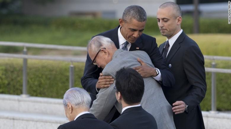 Tổng thống Obama thăm Hiroshima: Hãy vì một thế giới không vũ khí hạt nhân - ảnh 4