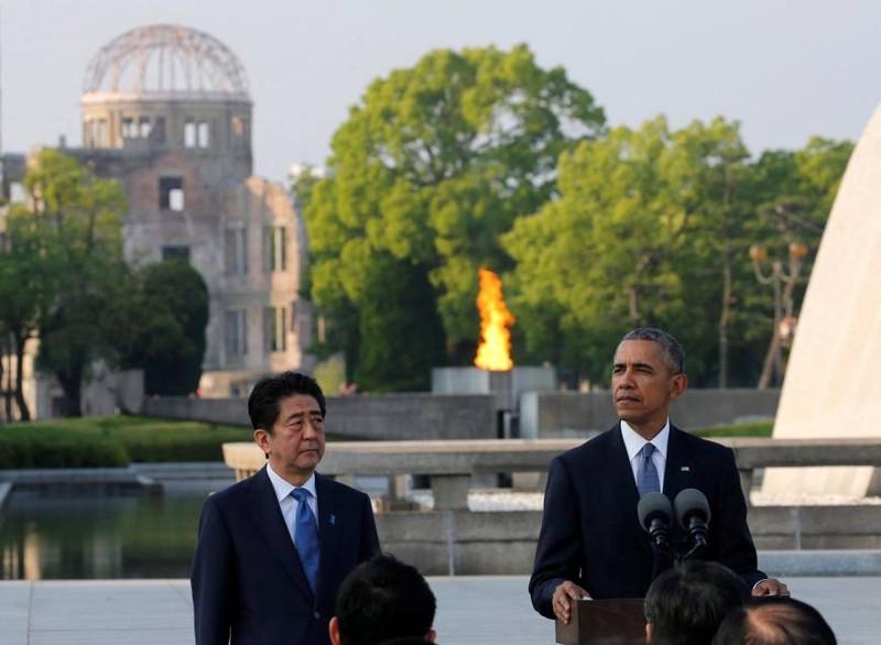 Tổng thống Obama thăm Hiroshima: Hãy vì một thế giới không vũ khí hạt nhân - ảnh 2