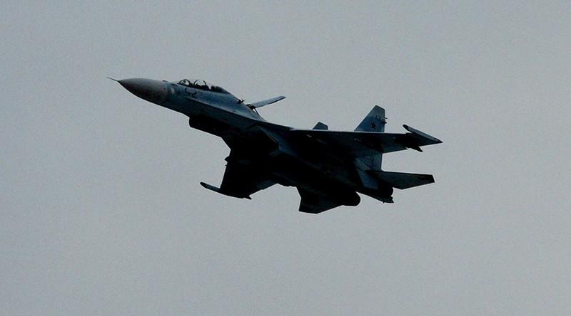 Chiến đấu cơ Su-27 của Nga rơi, phi công thiệt mạng - ảnh 1