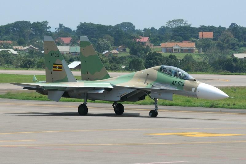Cận cảnh máy bay Su-30 của Nga - ảnh 2