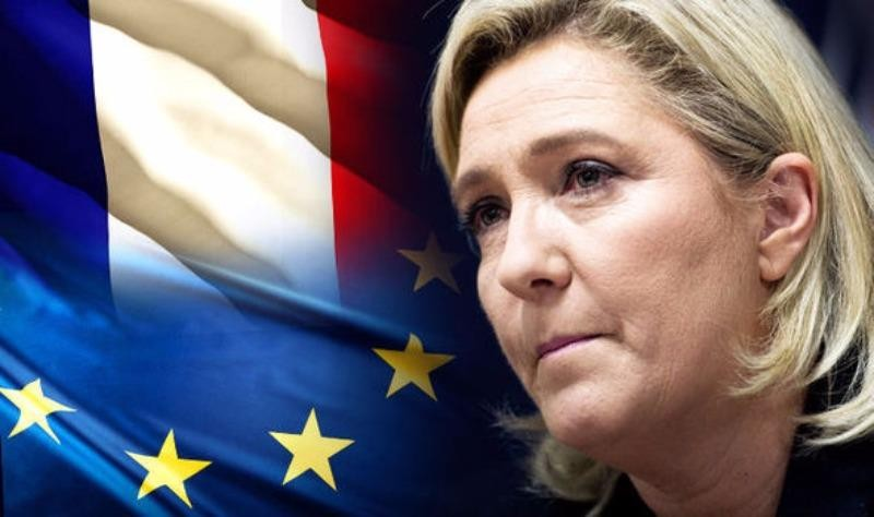 Marine Le Pen muốn Pháp rời EU