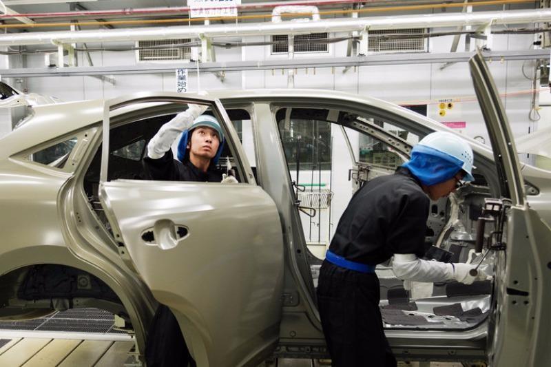 Nhà máy Toyota ở Takaoka (Nhật).