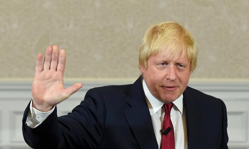 Ông Boris Johnson tuyên bố bỏ ý định thành Thủ tướng Anh trong cuộc họp báo ngày 30-6.