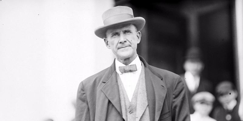 Ông Eugene V. Debs từng tham gia tranh cử tổng thống trong khi còn đang thụ án tù.