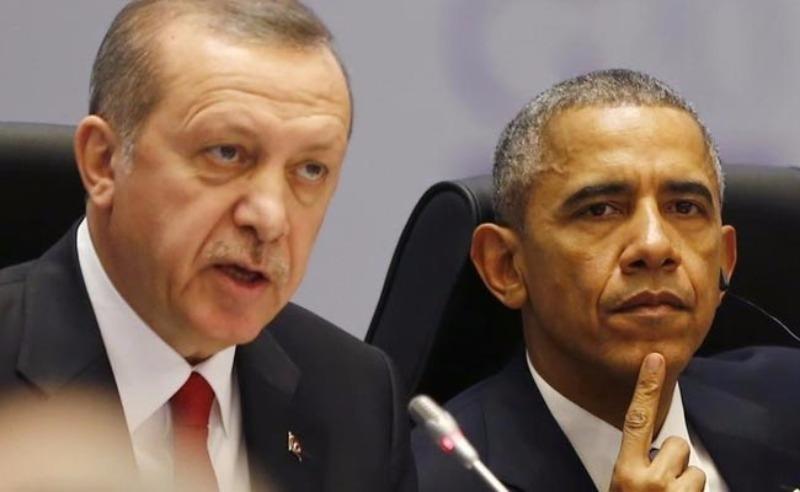 Tổng thống Mỹ Barack Obama (phải) nhanh chóng khẳng định ủng hộ Tổng thống Thổ Nhĩ Kỳ Recep Tayyip Erdogan trong cuộc đảo chính