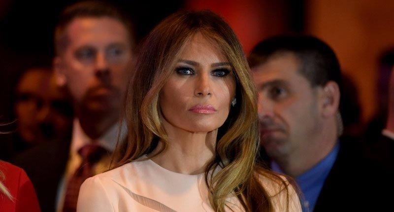 Bà Melania Trump tại đại hội đảng Cộng hòa ở Cleveland (Mỹ) ngày 18-7.