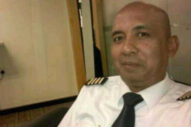 Phi công Zaharie bị nghi ngờ là đã thực hiện chuyến bay tự sát.