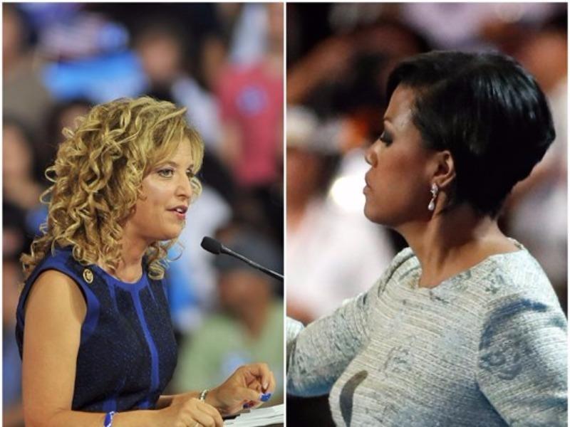 Bà Stephanie Rawlings-Blake thay bà Wasserman Shultz điều khiển đại hội đảng Dân chủ.