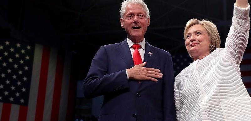 Bà Clinton sẽ theo dõi bài phát biểu của chồng từ nhà riêng.