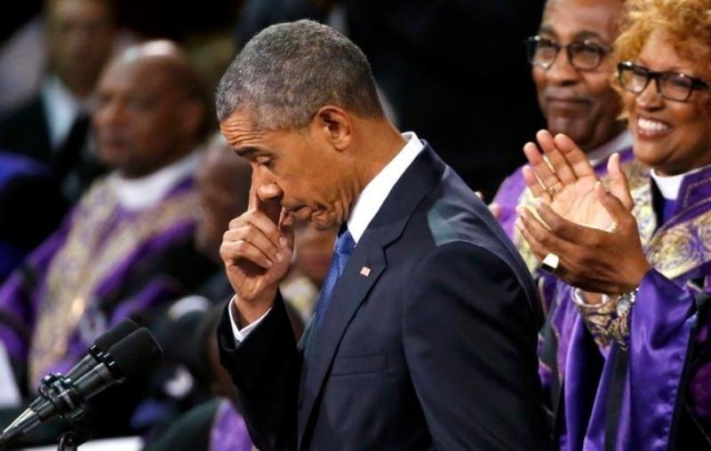"""""""Mỹ là đất nước của lòng vị tha."""" – Tổng thống Obama phát biểu sau vụ thảm sát nhà thờ Charleston."""
