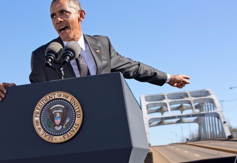 """""""Nước Mỹ đang chờ đợi thế hệ trẻ cùng trái tim không sợ hãi."""" – Tổng thống Obama phát biểu tưởng niệm sự kiện biểu tình Selma."""