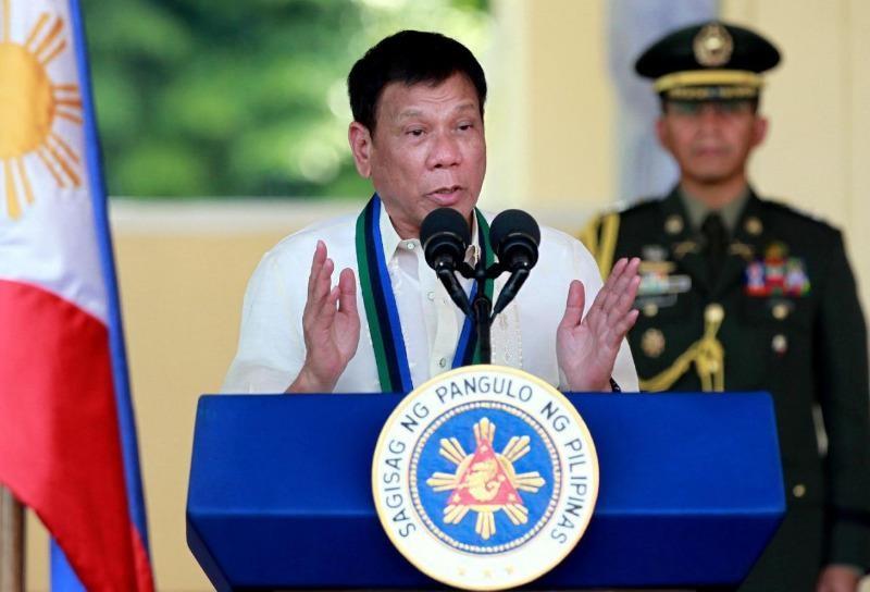 Tổng thống Philippines Rodrigo Duterte quyết không nhân nhượng tội phạm ma túy.