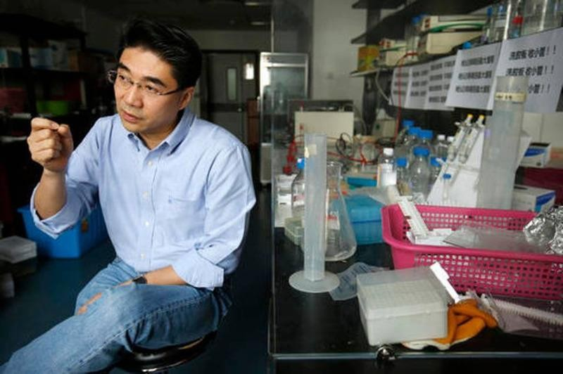 Anh Chen Xiaowei - hiện là Phó Giáo sư đại học Bắc Kinh trong một cuộc phỏng vấn tháng 4-2016.