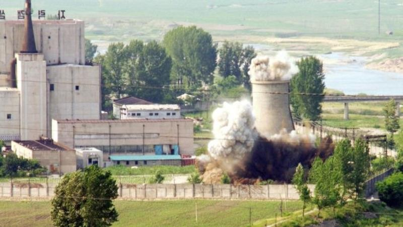 Trung tâm hạt nhân Yongbyon (Triều Tiên).