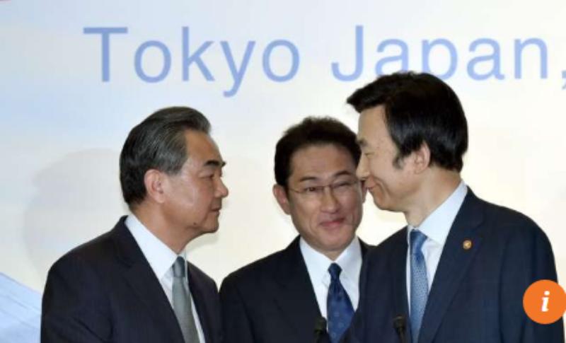 Ngoại trưởng ba nước Trung Quốc, Hàn Quốc, Nhật gặp nhau tại Tokyo (Nhật) ngày 24-8.