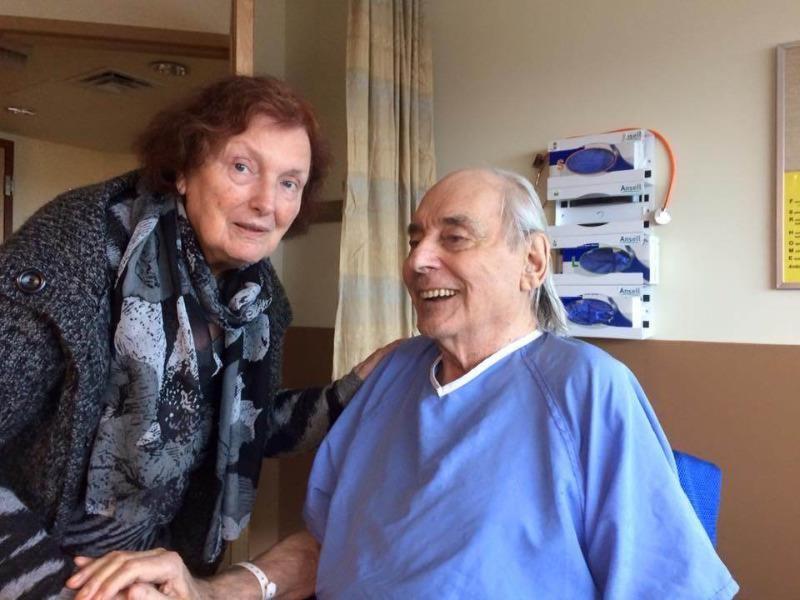 Ông bà cụ Wolf và Anita Gottschalk thời còn được sống chung một trung tâm chăm sóc người già.