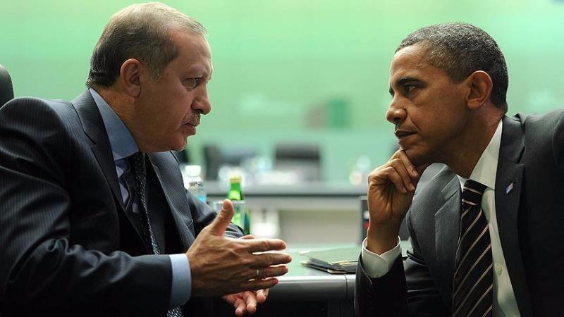 Tổng thống Obama (phải) và Tổng thống Tổng thống Thổ Nhĩ Kỳ Erdoğan sẽ gặp nhau tại Hàng Châu (Trung Quốc).