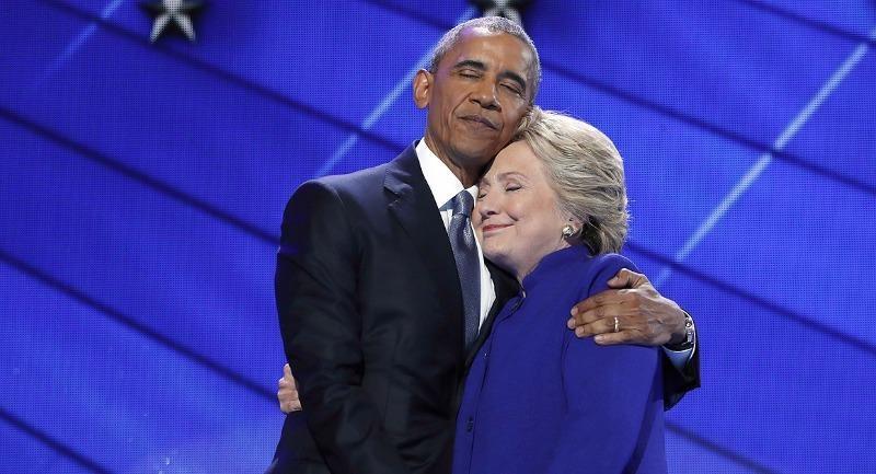 Tổng thống Obama được xem là đồng minh nhiều sức mạnh nhất của bà Clinton trong cuộc vận động tranh cử.